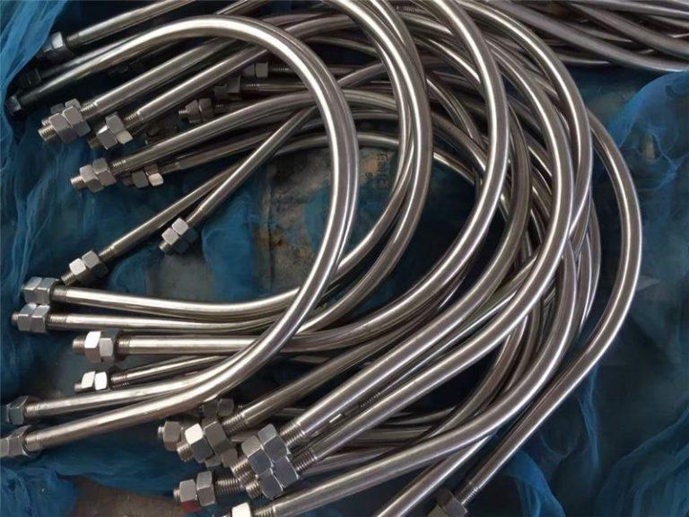 alloy825 en 2.4858 roestvrij staal u-bout legering718 en2.4668 uit China