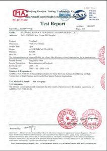 Certificaat voor S31254
