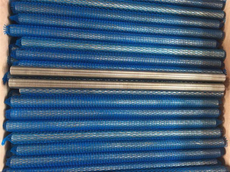 nikkel legering inconel601 / 2.4851 trapeziumvormige draadstang nieuwe goederen