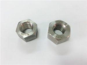 Nr. 108-fabrikant speciale legering bevestigingsmiddelen hastelloy C276 noten