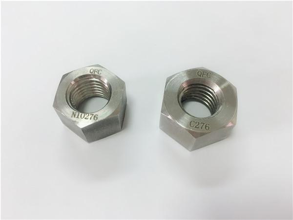 fabrikant speciale legering bevestigingsmiddelen hastelloy c276 noten