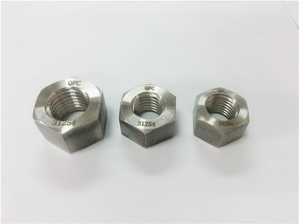 gh2132 / a286 roestvrijstalen bevestigingsmiddelen zware zeskantmoeren m6-m64