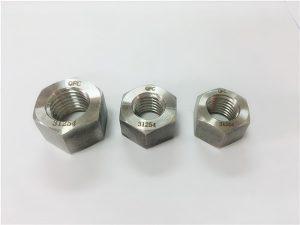 No.109-S31254 A193 B8MLCuN zware zeskantmoeren