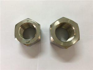 No.111-Fabricage nikkellegering A453 660 1.4980 zeskantmoeren