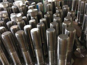 Nr. 12-zeskantbouten ISO4014 halve draad A193 B8, B8M, B8T, B8C SS-bevestiging