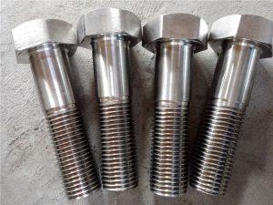 No.15-Nitronic 50 XM-19 Zeskantbout DIN931 UNS S20910