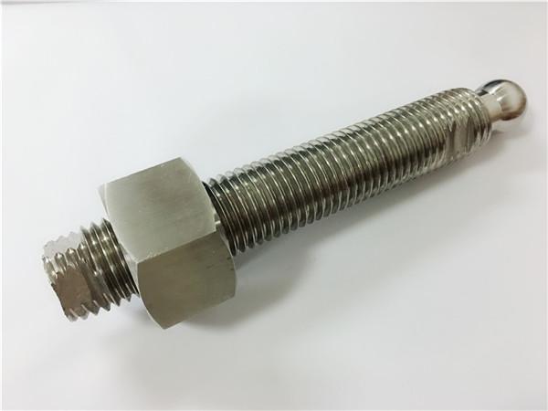 op maat gemaakte cnc-freesbout en -bevestiging van roestvrij staal