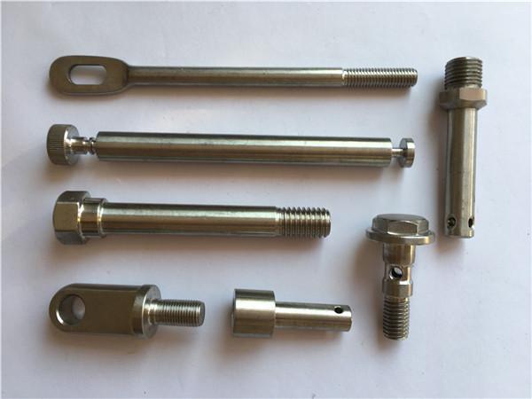 recision roestvrijstalen bevestigingsmiddelen cnc draaiende metalen bevestigingsmiddelen