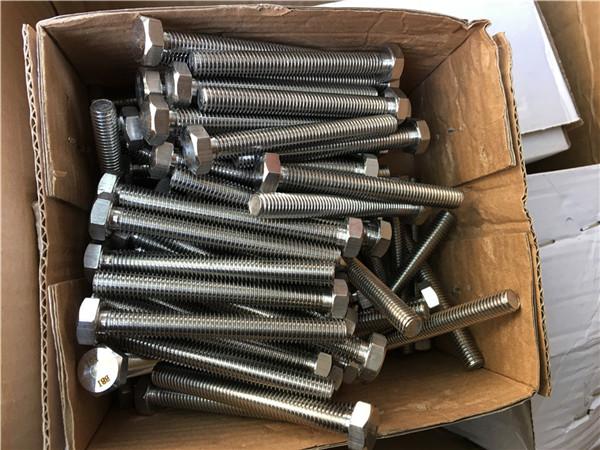 310s / 1.4845 speciale roestvrijstalen bevestigingsmiddelen zeskantmoer ring m24 * 80mm