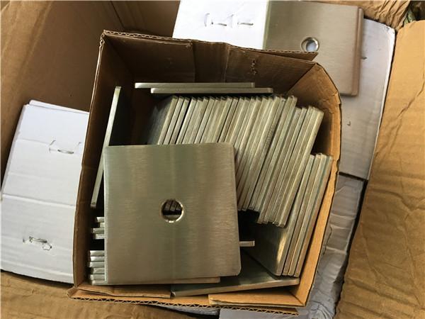 op maat gemaakte super duplex s32205 (f60) roestvrijstalen vierkante plaat wasmachine / sluiting
