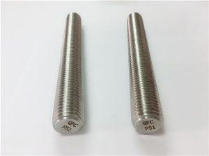Nr. 77 Duplex 2205 S32205 roestvrijstalen bevestigingsmiddelen DIN975 DIN976 draadstangen F51