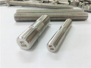 Nr. 80-duplex 2205 S32205 2507 S32750 1.4410 hoogwaardige hardware bevestiging houten draadstanganker