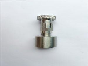 No.95-SS304, 316L, 317L SS410 Slotbout met ronde moer, niet-standaard bevestigingsmiddelen