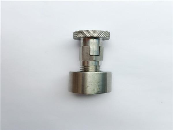 ss304, 316l, 317l, ss410 slotbout met ronde moer, niet-standaard bevestigingsmiddelen