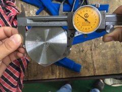 S31803 Dimensioneringstest met schroefdop