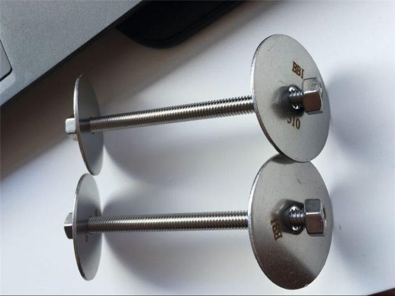 ss310 / ss310s astm f593 bevestigingsmiddel, roestvrijstalen bouten, moeren en ringen