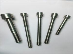 op maat gemaakte phillips gleufcilindrische pennenbevestiging met gat