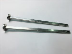 leverancier van hardware-bevestigingsmiddelen 316 roestvrijstalen platte kop vierkante nek din603 m4 slotbout