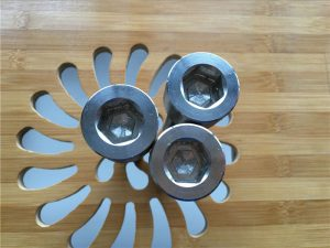 hoge kwaliteit ASEM zeskant dop titanium gr2 schroef / bout / moer / sluitring /