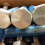 grote mechanische bevestigingsmiddelen hoge sterkte zware zeskantbout en moer